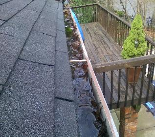 Clogged Gutters Shelby Township, MI 48316 Gutter Cleaning